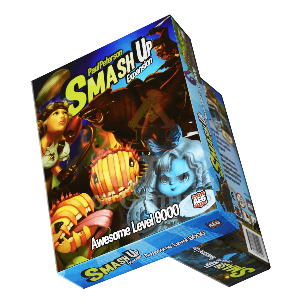 Awesome Level 9000 - Smash Up Expansion | Altar of Gaming