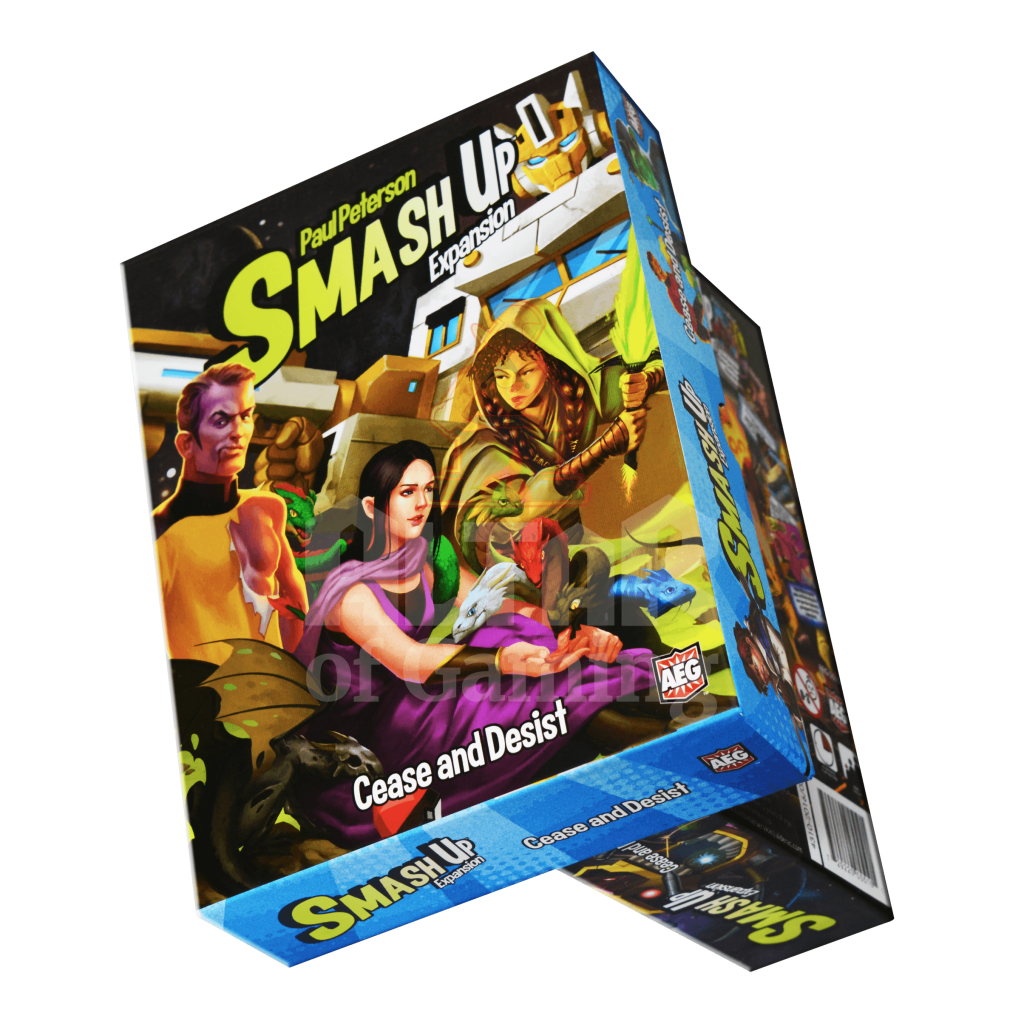 Cease And Desist - Smash Up Expansion | Altar of Gaming