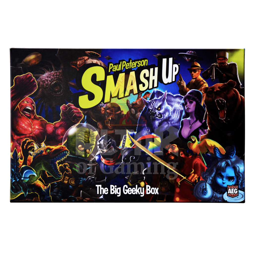The Big Geeky Box - Smash Up Expansion | Altar of Gaming