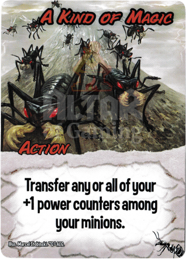 A Kind of Magic - Giant Ants - Smash Up Card | Altar of Gaming