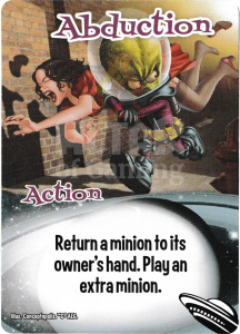 Abduction - Smash Up Card - Aliens | Altar of Gaming