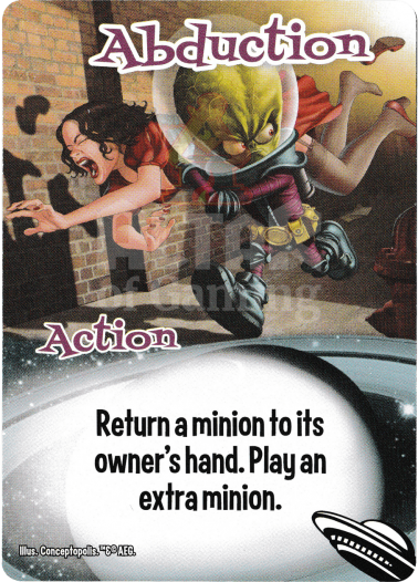 Abduction - Aliens - Smash Up Card | Altar of Gaming