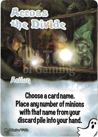 Across the Divide - Ghosts - Smash Up Card   Altar of Gaming