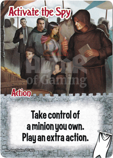 Activate the Spy - Ignobles - Smash Up Card | Altar of Gaming