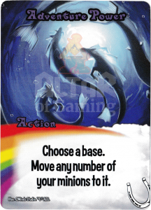 Adventure Power - Smash Up Card - Mythic Horses | Altar of Gaming