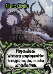 Altar to Cthulhu - Smash Up Card - Minions of Cthulhu | Altar of Gaming