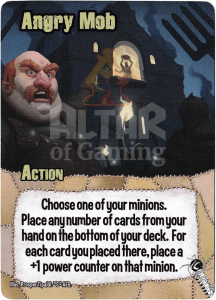 Angry Mob - Smash Up Card - Mad Scientists   Altar of Gaming