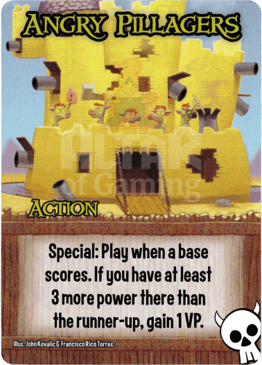 Angry Pillagers - Orcs - Smash Up Card | Altar of Gaming