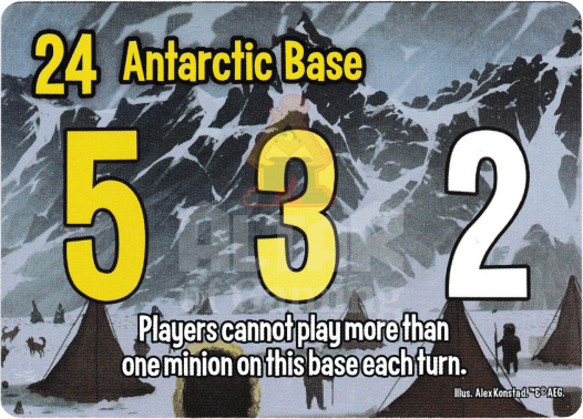 Antarctic Base - Elder Things - Smash Up Card | Altar of Gaming