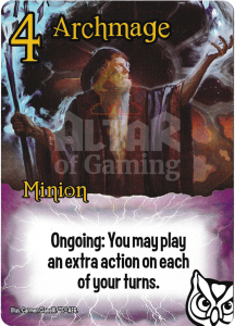 Archmage - Smash Up Card - Wizards | Altar of Gaming