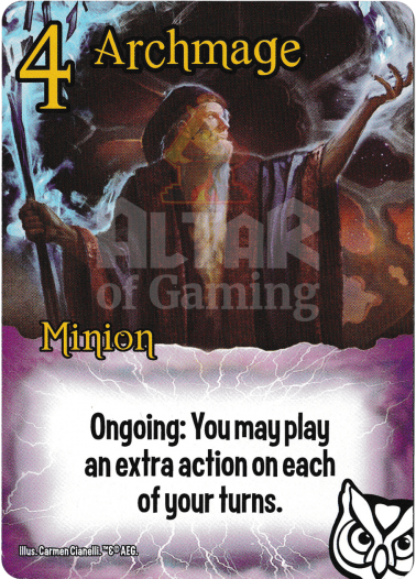 Archmage - Wizards - Smash Up Card | Altar of Gaming