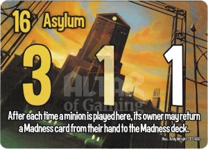 Asylum - Smash Up Card - Miskatonic University | Altar of Gaming