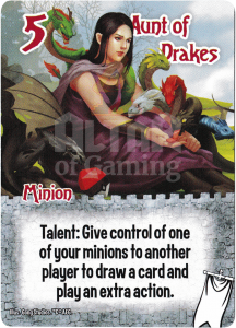 Aunt of Drakes - Smash Up Card - Ignobles | Altar of Gaming