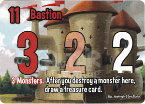 Bastion - Smash Up Card - Warriors | Altar of Gaming
