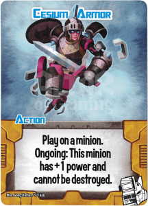 Cesium Armor - Smash Up Card - Changerbots | Altar of Gaming