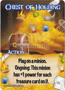 Chest of Holding - Smash Up Card - Treasures | Altar of Gaming