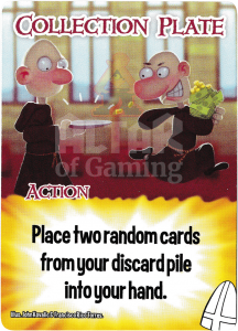 Collection Plate - Smash Up Card - Clerics | Altar of Gaming