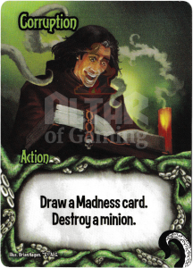 Corruption - Smash Up Card - Minions of Cthulhu | Altar of Gaming