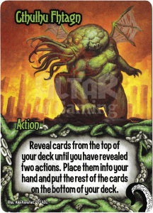 Cthulhu Fhtagn - Smash Up Card - Minions of Cthulhu | Altar of Gaming