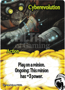 Cyberevolution - Smash Up Card - Cyborg Apes | Altar of Gaming