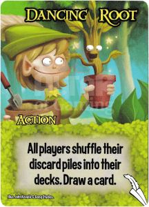 Dancing Root - Smash Up Card - Elves | Altar of Gaming