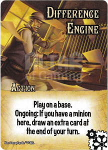 Difference Engine - Smash Up Card - Steampunks | Altar of Gaming