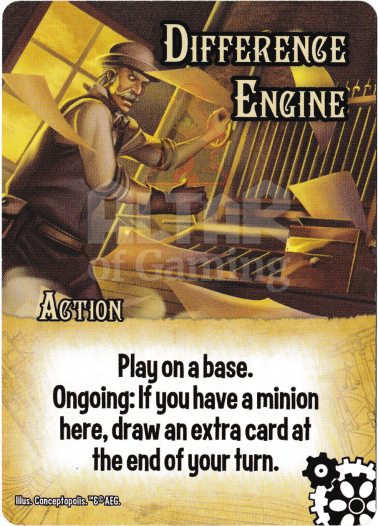 Difference Engine - Steampunks - Smash Up Card | Altar of Gaming