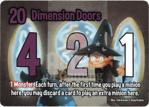 Dimension Doors - Smash Up Card - Mages | Altar of Gaming