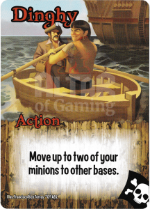 Dinghy - Smash Up Card - Pirates | Altar of Gaming