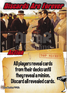 Discards Are Forever - Smash Up Card - Super Spies | Altar of Gaming