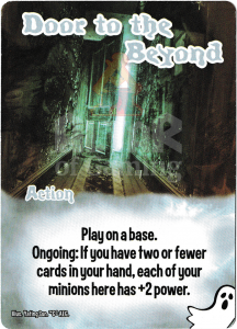 Door to the Beyond - Smash Up Card - Ghosts | Altar of Gaming