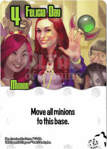 Felicia Day - Smash Up Card - Geeks | Altar of Gaming