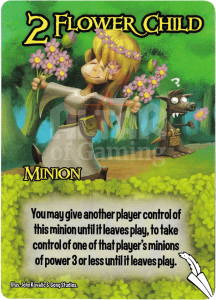 Flower Child - Smash Up Card - Elves | Altar of Gaming