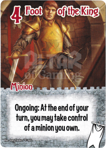 Foot of the King - Smash Up Card - Ignobles | Altar of Gaming