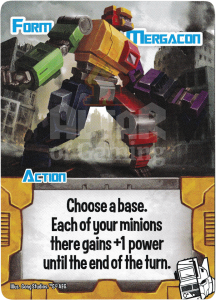 Form Mergacon - Smash Up Card - Changerbots | Altar of Gaming