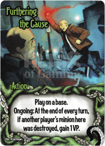 Furthering the Cause - Smash Up Card - Minions of Cthulhu | Altar of Gaming