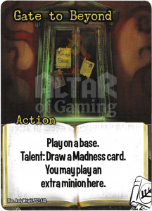 Gate to Beyond - Smash Up Card - Miskatonic University | Altar of Gaming