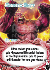 Genetic Shift - Smash Up Card - Shapeshifters | Altar of Gaming
