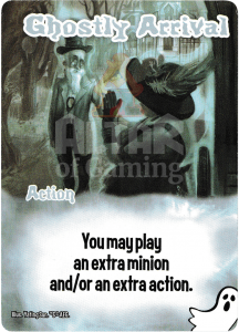 Ghostly Arrival - Smash Up Card - Ghosts | Altar of Gaming