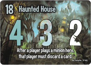 Haunted House - Smash Up Card - Ghosts | Altar of Gaming