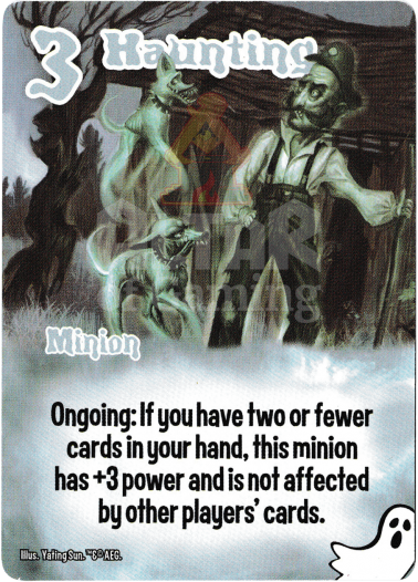 Haunting - Ghosts - Smash Up Card | Altar of Gaming