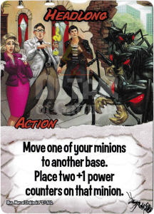 Headlong - Smash Up Card - Giant Ants | Altar of Gaming