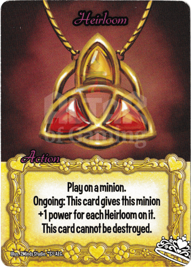 Heirloom - Princesses - Smash Up Card | Altar of Gaming