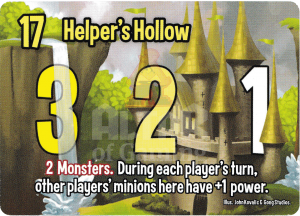 Helper's Hollow - Smash Up Card - Elves | Altar of Gaming