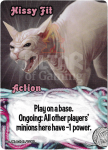 Hissy Fit - Smash Up Card - Kitty Cats | Altar of Gaming