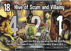 Hive of Scum and Villainy - Smash Up Card - Astroknights | Altar of Gaming