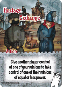 Hostage Exchange - Smash Up Card - Ignobles | Altar of Gaming