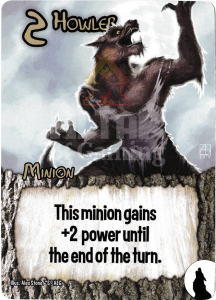 Howler - Smash Up Card - Werewolves | Altar of Gaming
