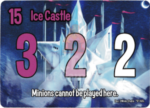 Ice Castle - Smash Up Card - Princesses | Altar of Gaming