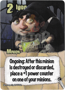 Igor - Smash Up Card - Mad Scientists   Altar of Gaming